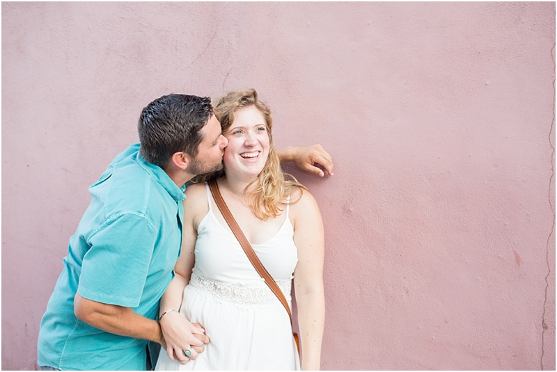 Charleston SC engagement summer photos