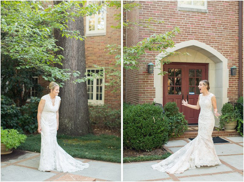 lesbian wedding first look