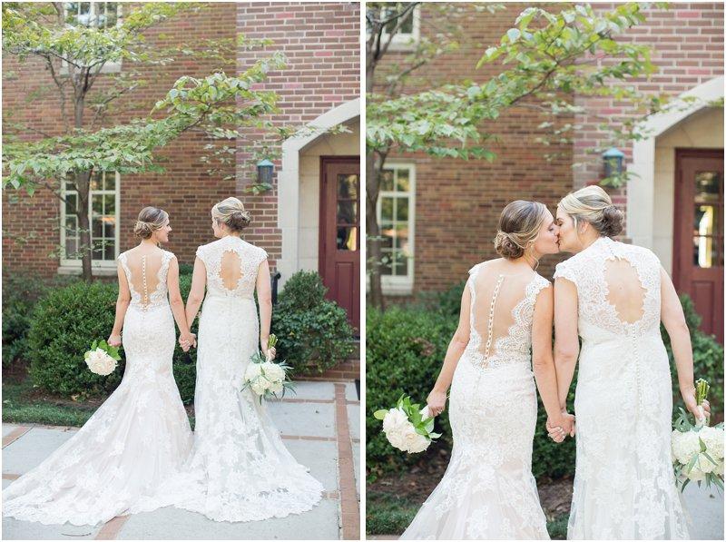 beautiful lesbian wedding