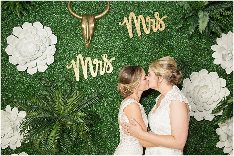 lesbian wedding decorations