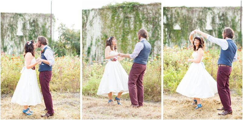 ideas for backyard weddings