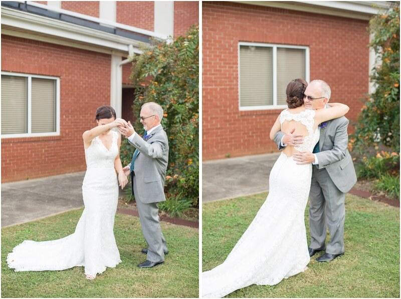 Backyard South Carolina Wedding