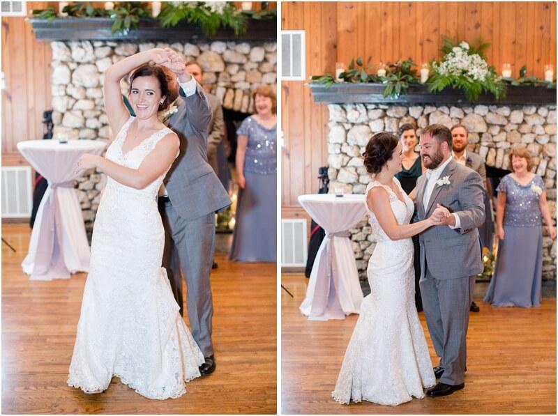 country club of newberry wedding reception