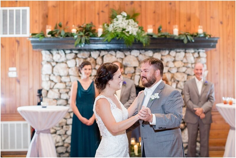 country club of newberry wedding