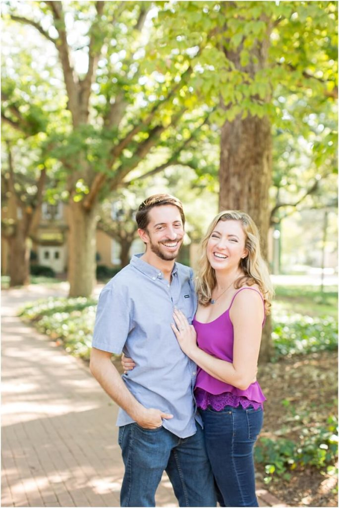 soda city columbia sc engagement