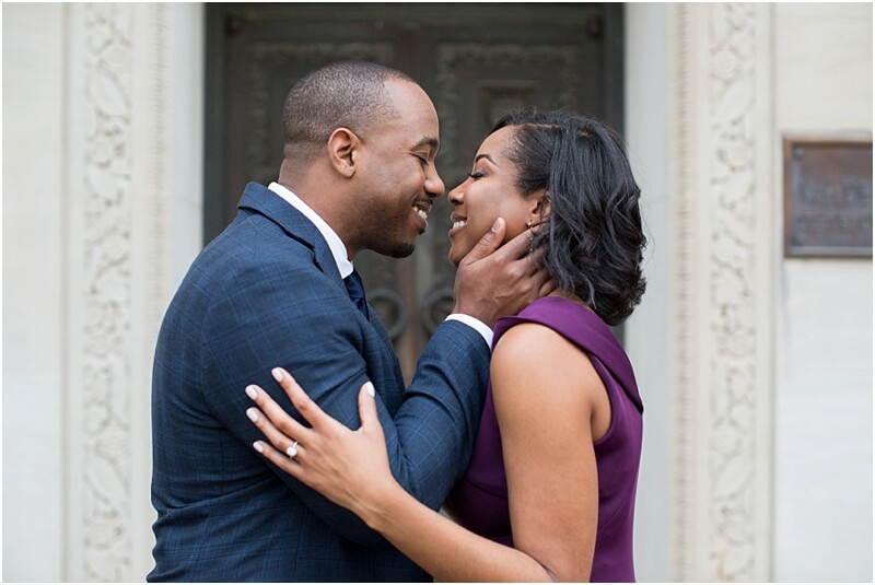 african-american engagement photo ideas