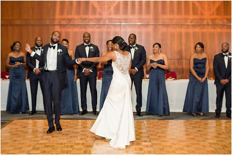 Wedding at Columbia Metropolitan Convention Center