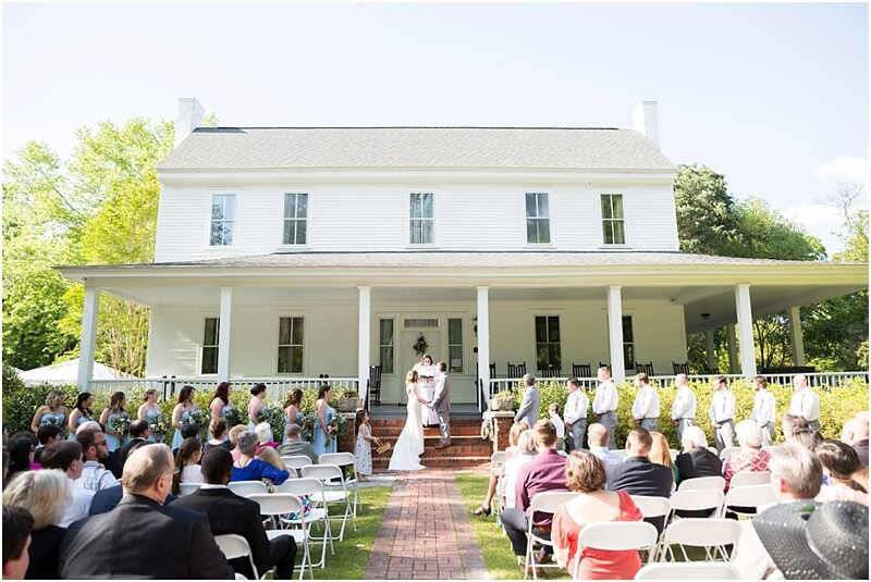 Coker College Wedding