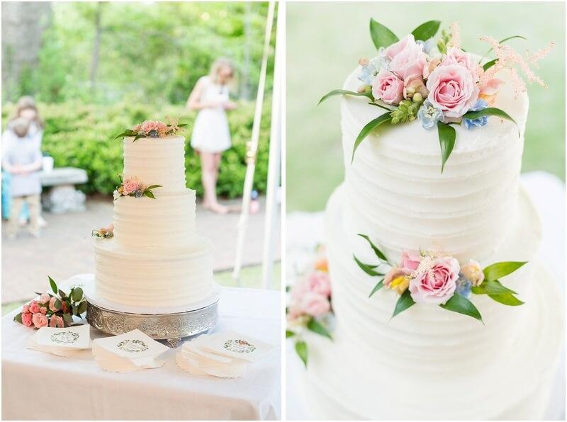 Wedding reception at Hart House SC