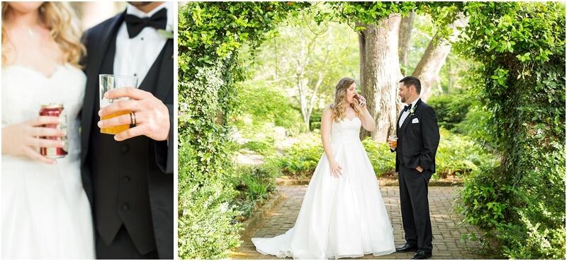 Columbia SC Garden Wedding