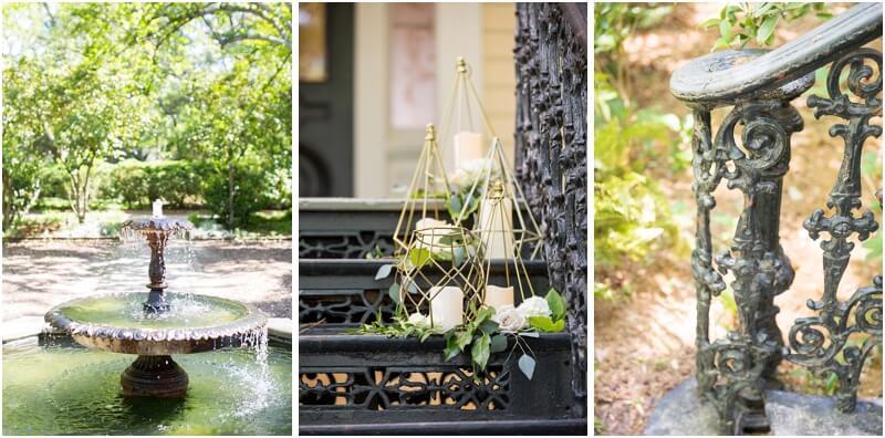 South Carolina Lace House Outdoor Reception