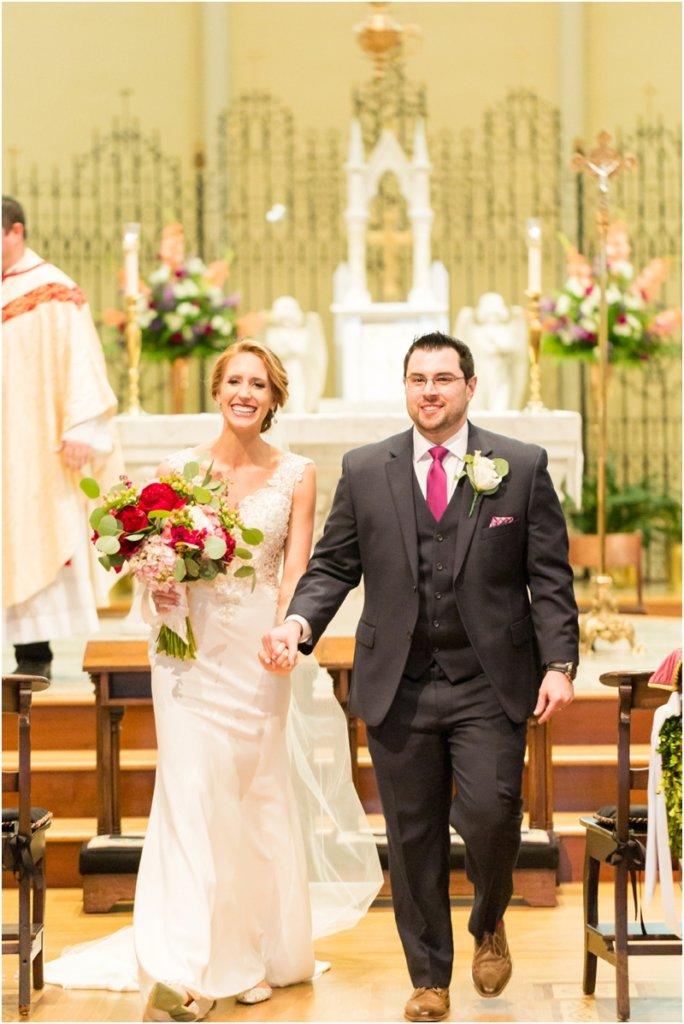 Basilica of St Peters south Carolina wedding photos Catholic wedding ceremony