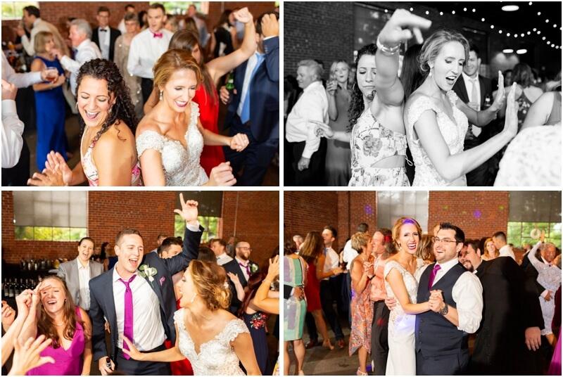 hall at senates Columbia south Carolina wedding photos brirdseed wedding exit