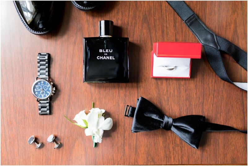 Chanel cologne grooms wedding details Morristown, new jersey