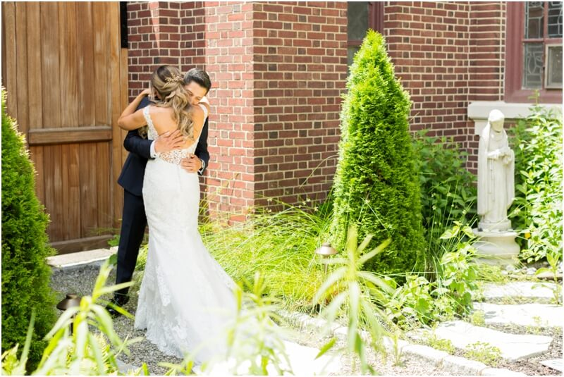 Madison Hotel wedding photos Morristown,New Jersey wedding first look