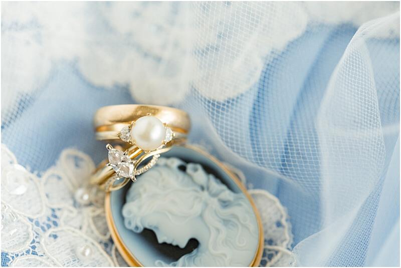 LGBTQ+ Citadel Beach Club wedding rings and details