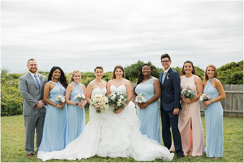 LGBTQ+ Citadel Beach Club Wedding Party