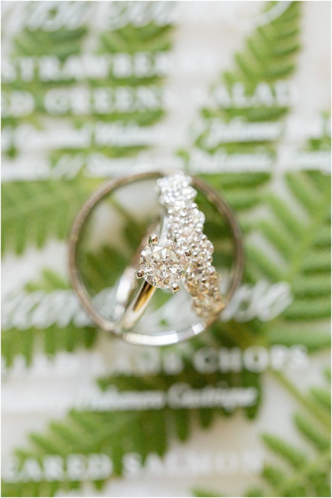 Columbia, SC Wedding rings at Lace House at Arsenal Hill