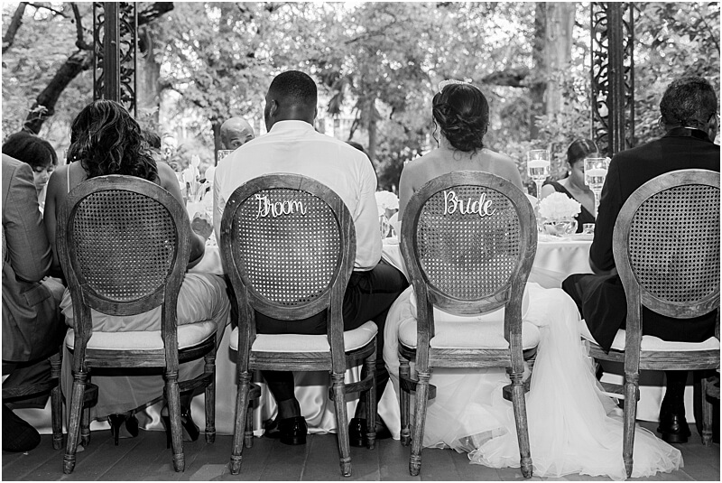 Columbia, SC Bride and Groom Seats at Lace House at Arsenal Hill