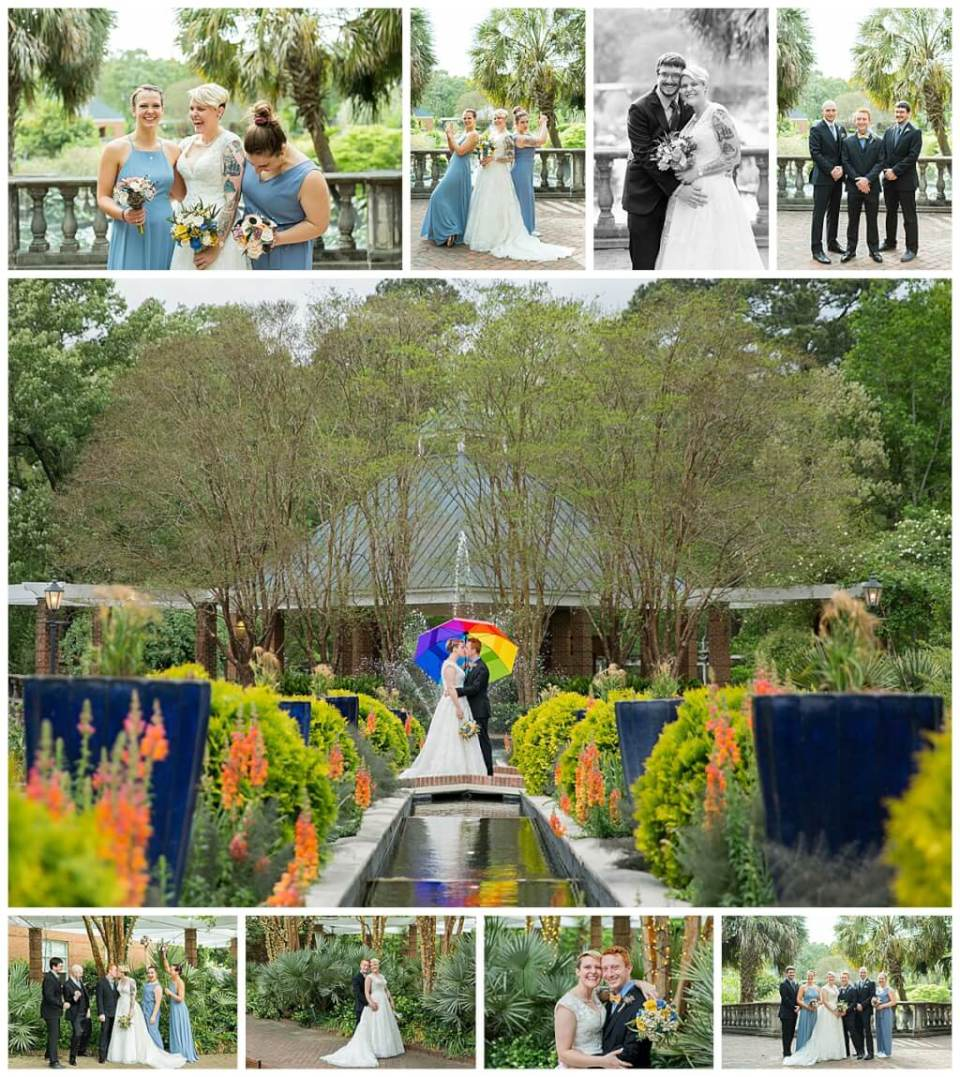 Riverbanks Zoo Botanical Gardens Wedding Photos