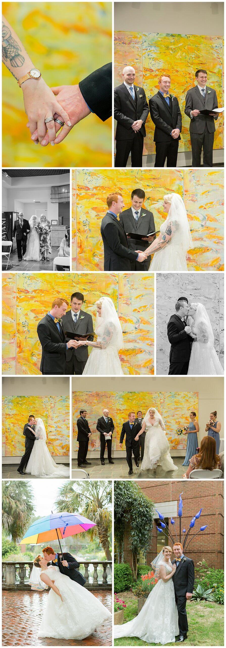 Riverbanks Zoo Botanical Gardens Wedding Ceremony
