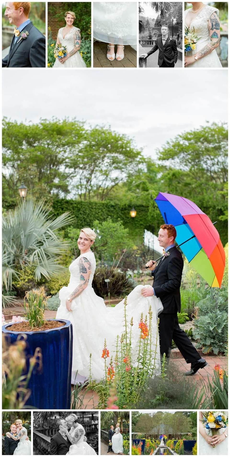 Riverbanks Zoo Botanical Gardens LGBTQ+ Friendly Wedding Photos