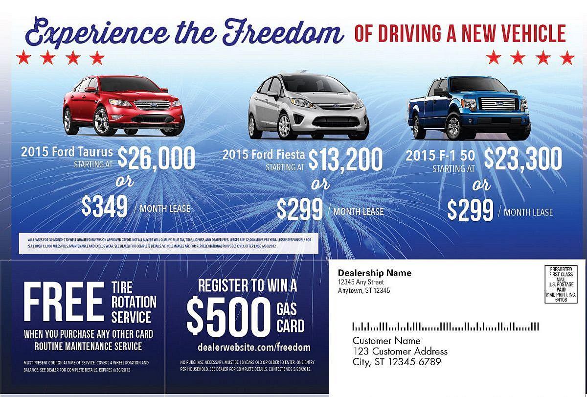 Car Dealership Advertisement Design • JJJ