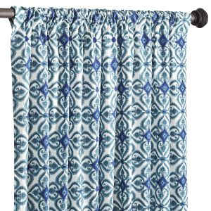 Blue ikat Pier One Panel