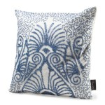 TJMaxx Blue and White Pillow