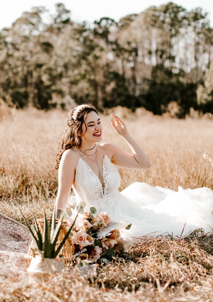orlando florida elopement wedding Lake Louisa state park