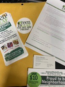 Branding Kit for introducing GreenLeaf Market
