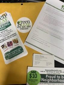 Branding Kit for introducing GreenLeaf Market