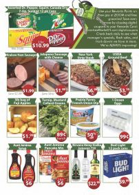 In house grocery store sale flyer p2