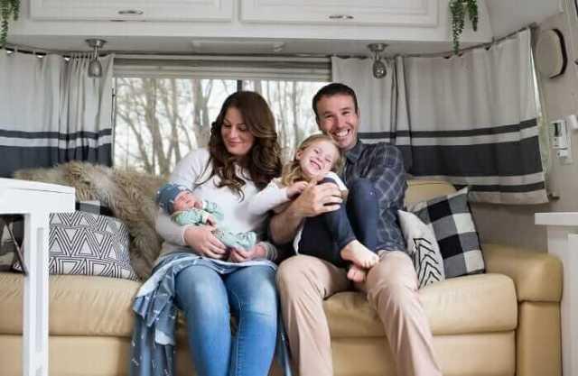 full-time rv family