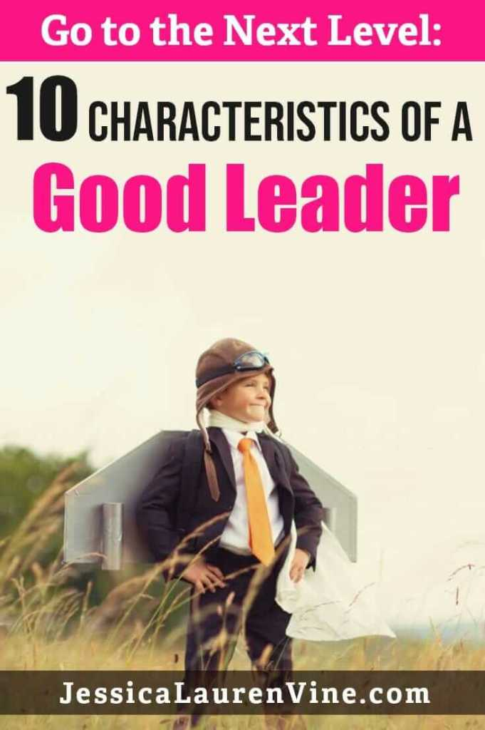 characteristics of a great leader
