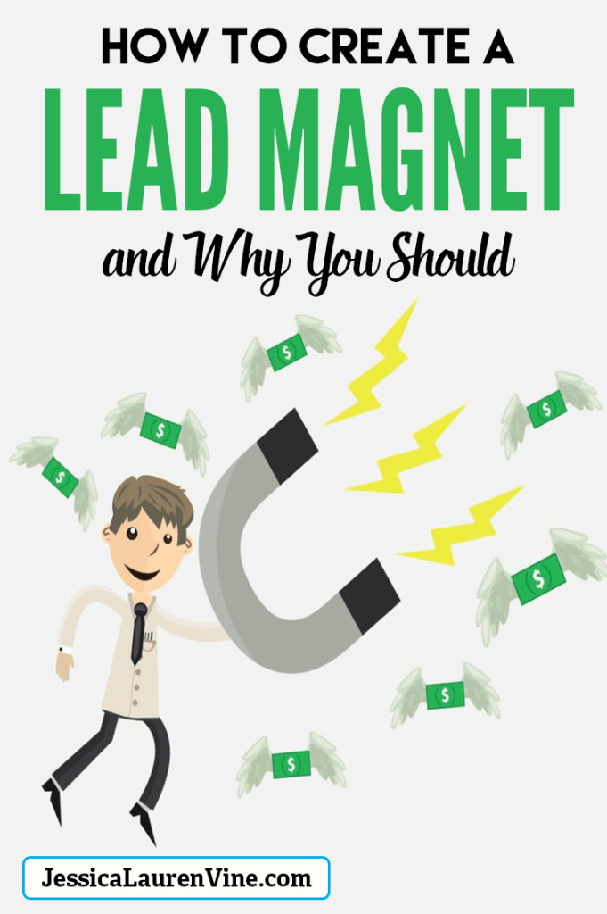 how to create a lead magnet pinterest pin