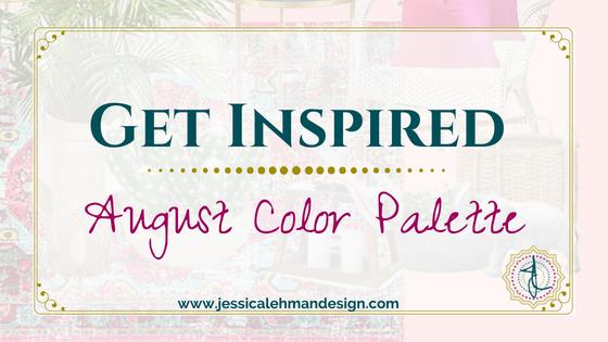 August Color palette introduction