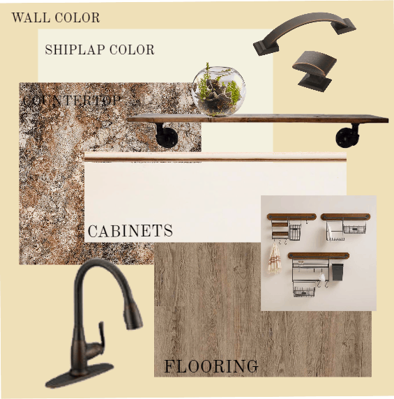 Concept board-Kitchen finishes