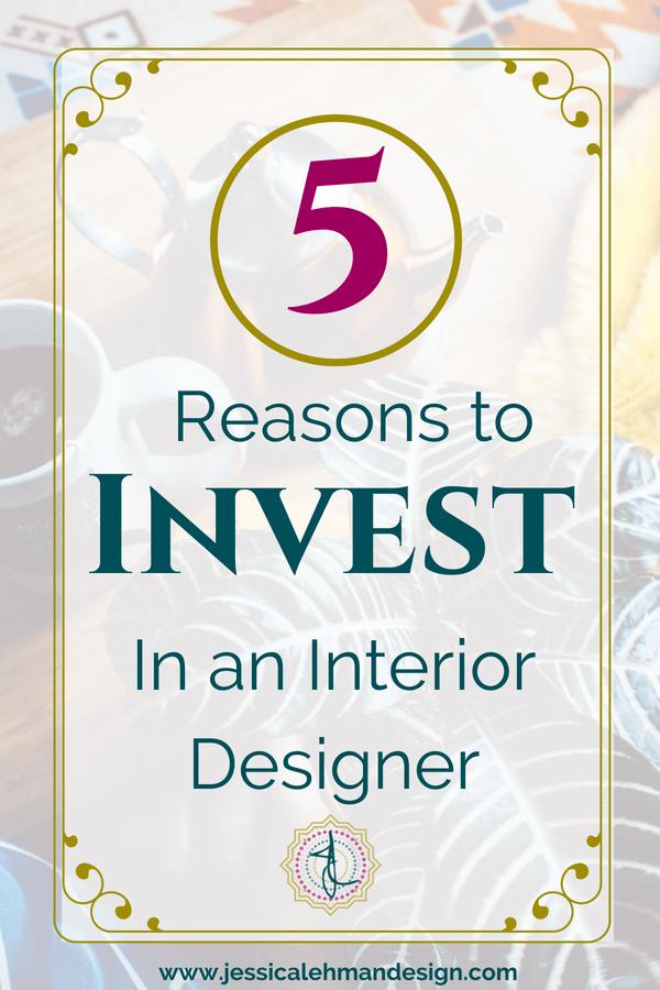 5 reasons to invest in an interior designer for maximum return