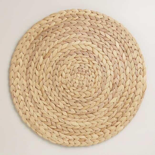 Boho tablescape placemat