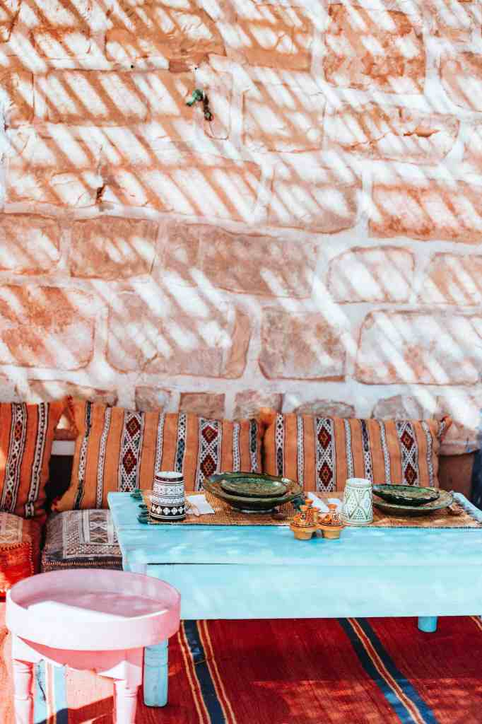 add boho style to your home by mixing patterns
