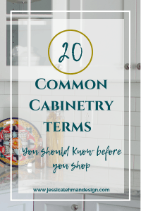 Cabinetry terms to know