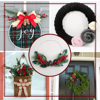DIY Christmas Wreaths feature image