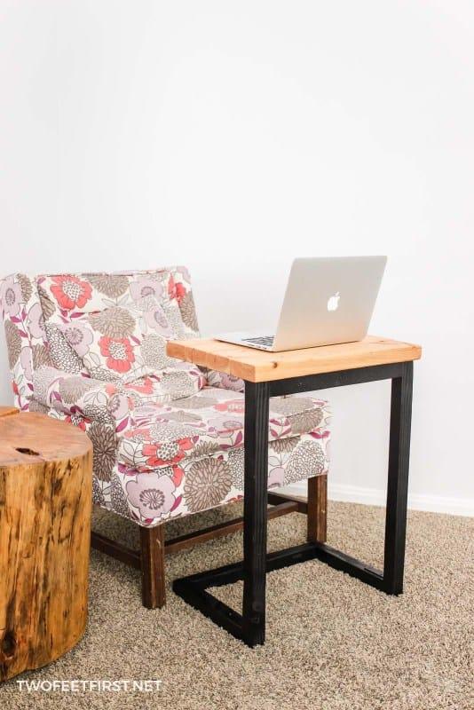 DIY Christmas gift -laptop-sofa-table-two feet first