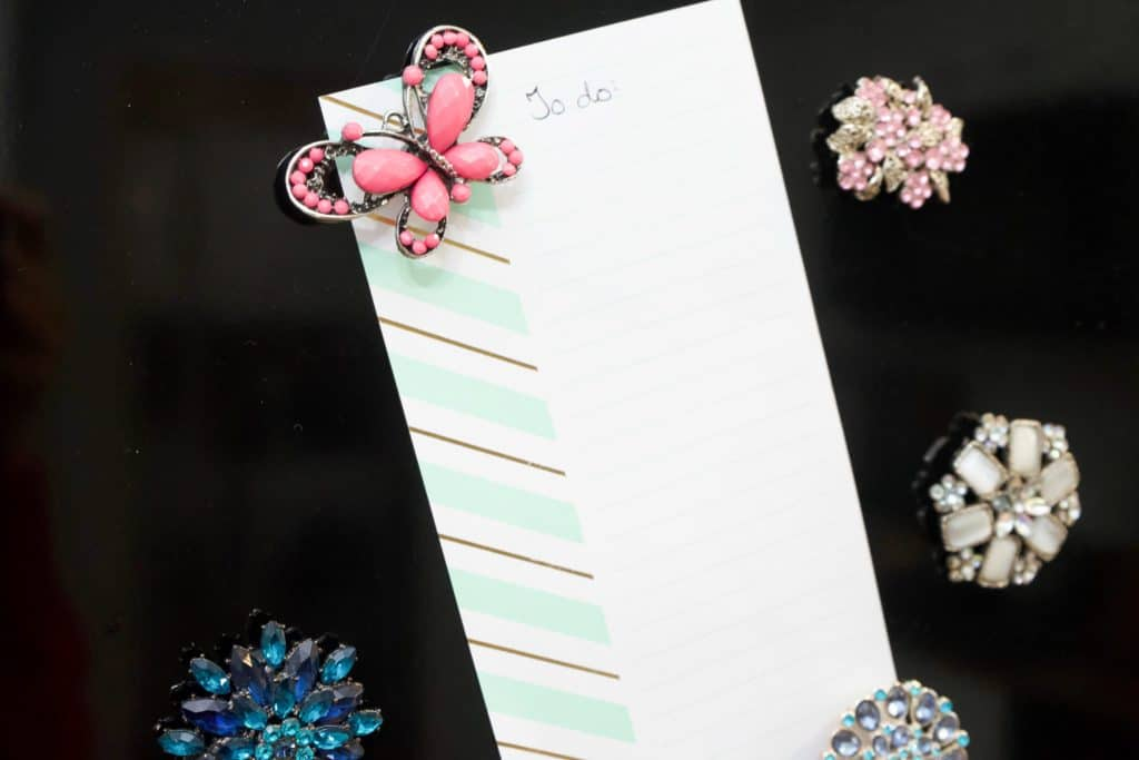 DIY Christmas gift Jewelry magnets-healthhomeheart