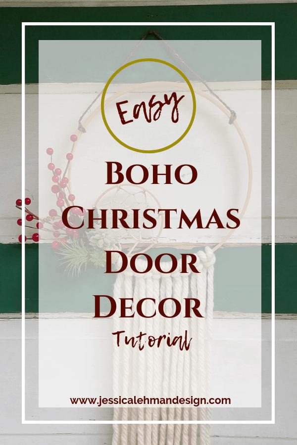 Quick and Easy Boho Door Decor