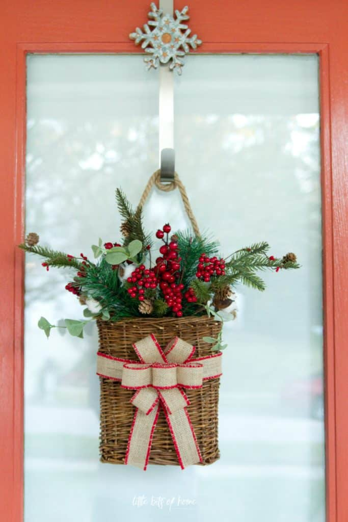 DIY Christmas Wreath by Little Bits of Home