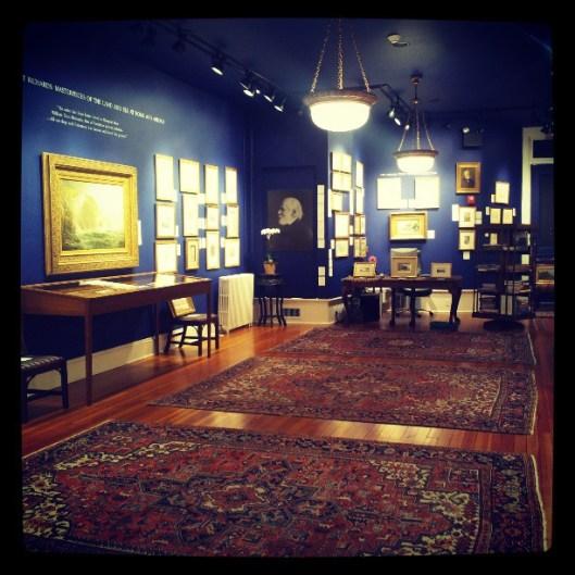 William Trost Richards treasure room