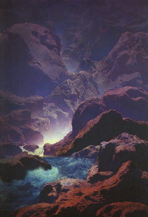 Maxfield Parrish, Moonlight