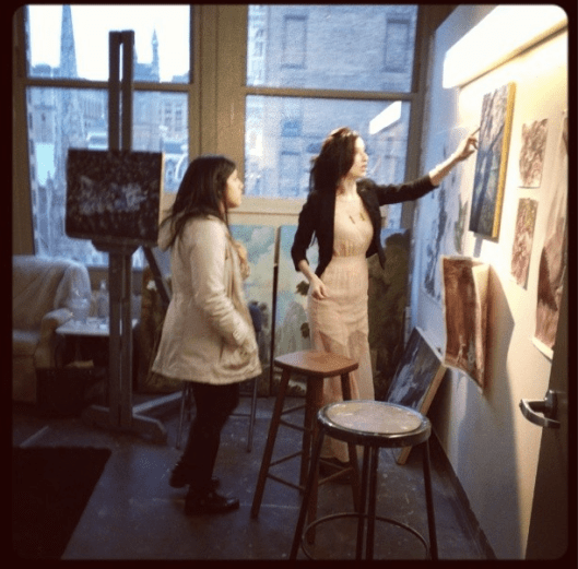 Open studios at PAFA